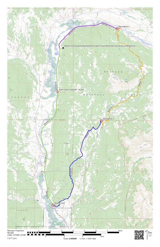2019 28 mile course map